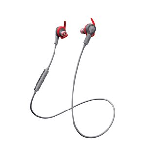 Jabra Sport Coach Bluetooth Stereo Earphones, Red