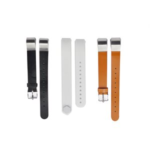 Affinity Fitbit ALTA / ALTA HR band 3pk TPU / Leather