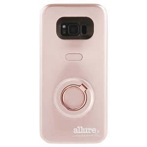 Case-Mate Allure Selfie Case for Samsung Galaxy S8 Plus, Rose Gold
