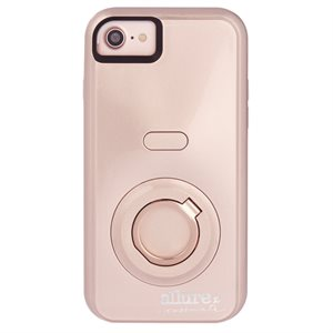Case-Mate Allure Selfie Case for iPhone 6 / 6s / 7 / 8, Rose Gold