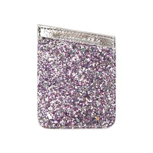 Case-Mate ID Pocket - Silver Glitter