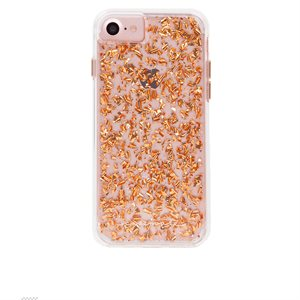Case-Mate Karat Case for iPhone 6s / 7 / 8, Rose Gold