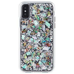 Case-Mate Karat Case for iPhone X, Mother of Pearl