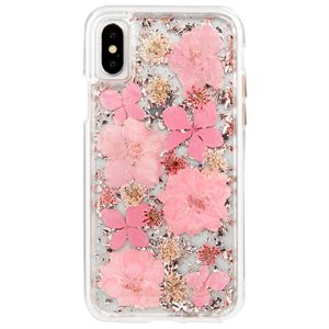 Case-Mate Karat Petals Case for iPhone X, Pink