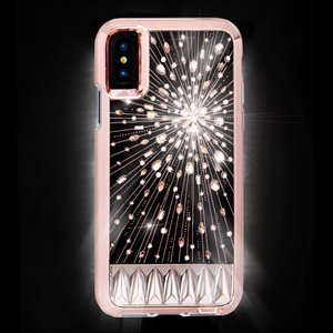 Case-Mate Luminescent Case for iPhone X, Clear