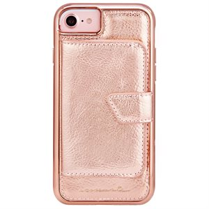 Case-Mate Compact Mirror Case for iPhone 6s / 7 / 8,  Rose Gold
