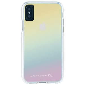 Case-Mate Naked Tough Case for iPhone X, Iridescent