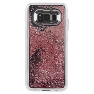 Case-Mate Waterfall Case for Samsung Galaxy S8 Plus, Rose Gold