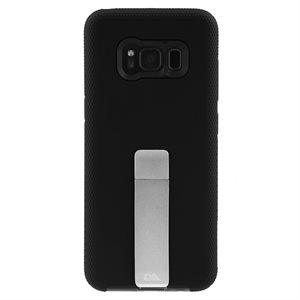 Case-Mate Tough Stand Case for Samsung Galaxy S8, Black / Silver