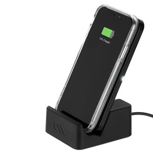 Case-Mate Wireless Power Pad with Stand, Black