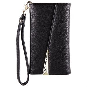 Case-Mate Wristlet Folio Case for iPhone X, Black