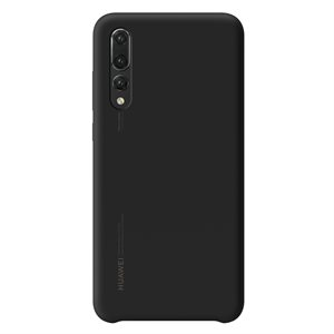 Huawei OEM silicone finish cover P20 Pro Black