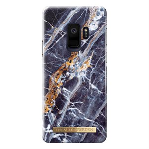 iDeal Fashion Case Samsung GS9 Midnight Blu Marble
