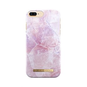 iDeal Fashion Case for iPhone 8 Plus / 7 Plus / 6s Plus, Pink Marble