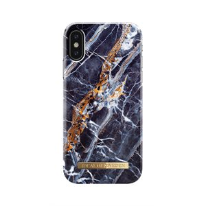 Ideal Fashion Case for iPhone X, Midnight Blue Marble