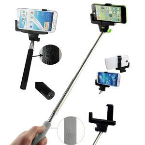 NÜPOWER Monopod Selfie Stick, Black