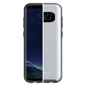 OtterBox Symmetry Case for Samsung Galaxy S8 Plus, Titanium Silver