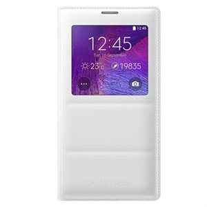 Samsung OEM Galaxy Note 4S View Cover, White